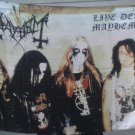MAYHEM Live Dead FLAG CLOTH POSTER WALL TAPESTRY BANNER CD Black Metal