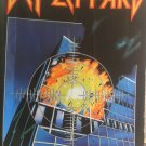 DEF LEPPARD Pyromania FLAG CLOTH POSTER WALL TAPESTRY BANNER CD Hard Rock