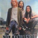 NIRVANA Band Outdoor Kurt Cobain FLAG CLOTH POSTER WALL TAPESTRY BANNER CD Grunge