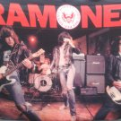THE RAMONES Gabba Gabba Hey FLAG CLOTH POSTER WALL TAPESTRY BANNER CD Punk