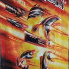 JUDAS PRIEST Firepower FLAG CLOTH POSTER WALL TAPESTRY BANNER CD Hard Rock