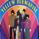 THE BEATLES Yellow Submarine 3 FLAG CLOTH POSTER WALL TAPESTRY BANNER CD LP