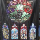 IRON MAIDEN Legacy of the Beast - European Tour 2018 -V FLAG CLOTH POSTER WALL TAPESTRY BANNER CD