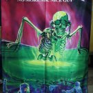 MEGADETH No More Mr. Nice Guy FLAG CLOTH POSTER WALL TAPESTRY BANNER CDThrash