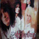 MOTLEY CRUE Dr. Feelgood FLAG CLOTH POSTER WALL TAPESTRY BANNER CD Heavy Metal