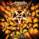 ANTHRAX Worship Music FLAG CLOTH POSTER WALL TAPESTRY BANNER CD Thrash Metal