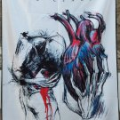 IN FLAMES Come Clarity FLAG CLOTH POSTER WALL TAPESTRY BANNER CD Death Metal