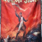 BLAZON STONE No Sign of Glory FLAG CLOTH POSTER WALL TAPESTRY BANNER CD Power Metal