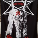 WITCHFYNDE Give 'Em Hell FLAG CLOTH POSTER WALL TAPESTRY BANNER CD Heavy Metal