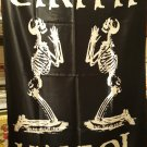 CIRITH UNGOL Servants of Chaos FLAG CLOTH POSTER WALL TAPESTRY CD Heavy Metal