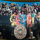 THE BEATLES Sgt Pepper's Lonely Hearts Club Band FLAG CLOTH POSTER WALL TAPESTRY