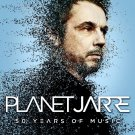 JEAN-MICHEL JARRE Planet Jarre - 50 Years of Music FLAG CLOTH POSTER CD