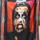 KING DIAMOND Conspiracy FLAG CLOTH POSTER WALL TAPESTRY BANNER CD Hard Rock