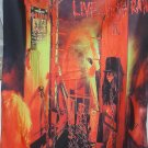 WASP W.A.S.P. Live in the Raw FLAG CLOTH POSTER WALL TAPESTRY BANNER CD Glam Metal
