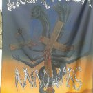 HOLY TERROR Mind Wars FLAG CLOTH POSTER WALL TAPESTRY BANNER CD Heavy Metal