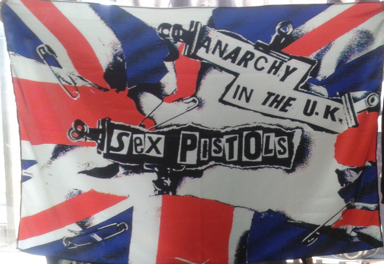 Sex pistols anarchy in the uk men's longsleeve t shirt