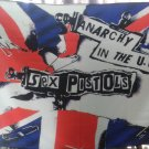 SEX PISTOLS Anarchy in the UK FLAG CLOTH POSTER WALL TAPESTRY LP CD Punk