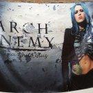 ARCH ENEMY Alissa White-Gluz FLAG CLOTH POSTER BANNER CD Melodic Death Metal