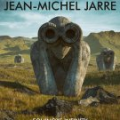 JEAN-MICHEL JARRE Equinoxe Infinity FLAG CLOTH POSTER BANNER CD LP
