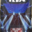 KIX Blow My Fuse FLAG CLOTH POSTER WALL TAPESTRY BANNER CD Glam Metal