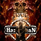 SLAYER Jeff Hanneman Tribute 2 FLAG CLOTH POSTER WALL TAPESTRY BANNER CD Thrash Metal