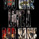 BON JOVI Collage Band Name FLAG CLOTH POSTER WALL TAPESTRY BANNER CD Hard Rock