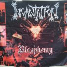 INCANTATION Blasphemy FLAG CLOTH POSTER WALL TAPESTRY CD LP Death Metal
