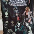 OZZY OSBOURNE Collage FLAG CLOTH POSTER WALL TAPESTRY BANNER CD Hard Rock