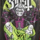 GHOST Popestar Fan Art FLAG CLOTH POSTER TAPESTRY BANNER CD HEAVY METAL