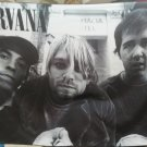 NIRVANA Band In Utero FLAG CLOTH POSTER WALL TAPESTRY BANNER CD Grunge