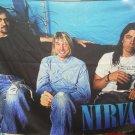 NIRVANA Band Bleach FLAG CLOTH POSTER WALL TAPESTRY BANNER CD Grunge