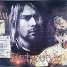 NIRVANA Kurt Cobain Tribute FLAG CLOTH POSTER WALL TAPESTRY BANNER CD Grunge