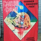 CANNIBAL CORPSE Hammer Smashed Face FLAG CLOTH POSTER WALL TAPESTRY CD Death Metal