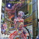 IRON MAIDEN Somewhere in Time - Vertical FLAG CLOTH POSTER WALL TAPESTRY BANNER CD Metal