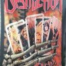 DESTRUCTION Thrash 'till Death FLAG CLOTH POSTER WALL TAPESTRY BANNER CD Thrash Metal