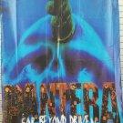 PANTERA Far Beyond Driven FLAG CLOTH POSTER WALL TAPESTRY BANNER CD Thrash Metal