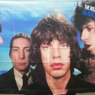 ROLLING STONES Black And Blue FLAG CLOTH POSTER WALL TAPESTRY BANNER Jagger LP