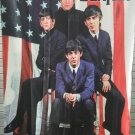 THE BEATLES In America FLAG CLOTH POSTER WALL TAPESTRY BANNER CD LP