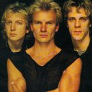 THE POLICE Wrapped Around Your Finger FLAG BANNER CLOTH POSTER TAPESTRY Sting Rock