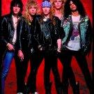 GUNS N' ROSES Band 6 FLAG BANNER CLOTH POSTER WALL TAPESTRY CD Lies METAL