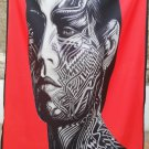 ROLLING STONES Tattoo You FLAG CLOTH POSTER WALL TAPESTRY BANNER Jagger CD