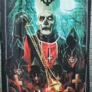 GHOST Pope Emeritus II FLAG CLOTH POSTER TAPESTRY BANNER CD HEAVY METAL
