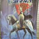 SAXON Heavy Metal Thunder FLAG CLOTH POSTER WALL TAPESTRY BANNER CD Heavy Metal