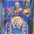 IRON MAIDEN The Book Of Souls - Two Eddies FLAG CLOTH POSTER WALL TAPESTRY CD Heavy Metal