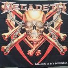 MEGADETH Killing is my Business 2 FLAG CLOTH POSTER WALL TAPESTRY BANNER CD Thrash
