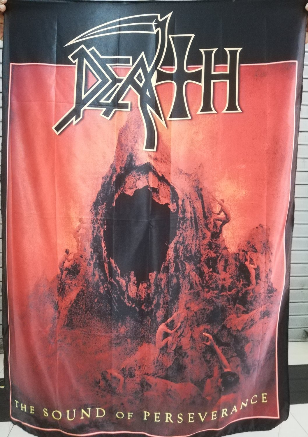 DEATH The Sound of Perseverance FLAG CLOTH POSTER WALL TAPESTRY BANNER CD