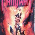 MANOWAR Kings of Metal FLAG BANNER CLOTH POSTER WALL TAPESTRY CD Power Metal