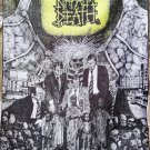 NAPALM DEATH Scum FLAG CLOTH POSTER WALL TAPESTRY CD Grindcore Death Metal