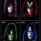 KISS The Solo Albums FLAG CLOTH POSTER WALL TAPESTRY BANNER CD Hard Rock