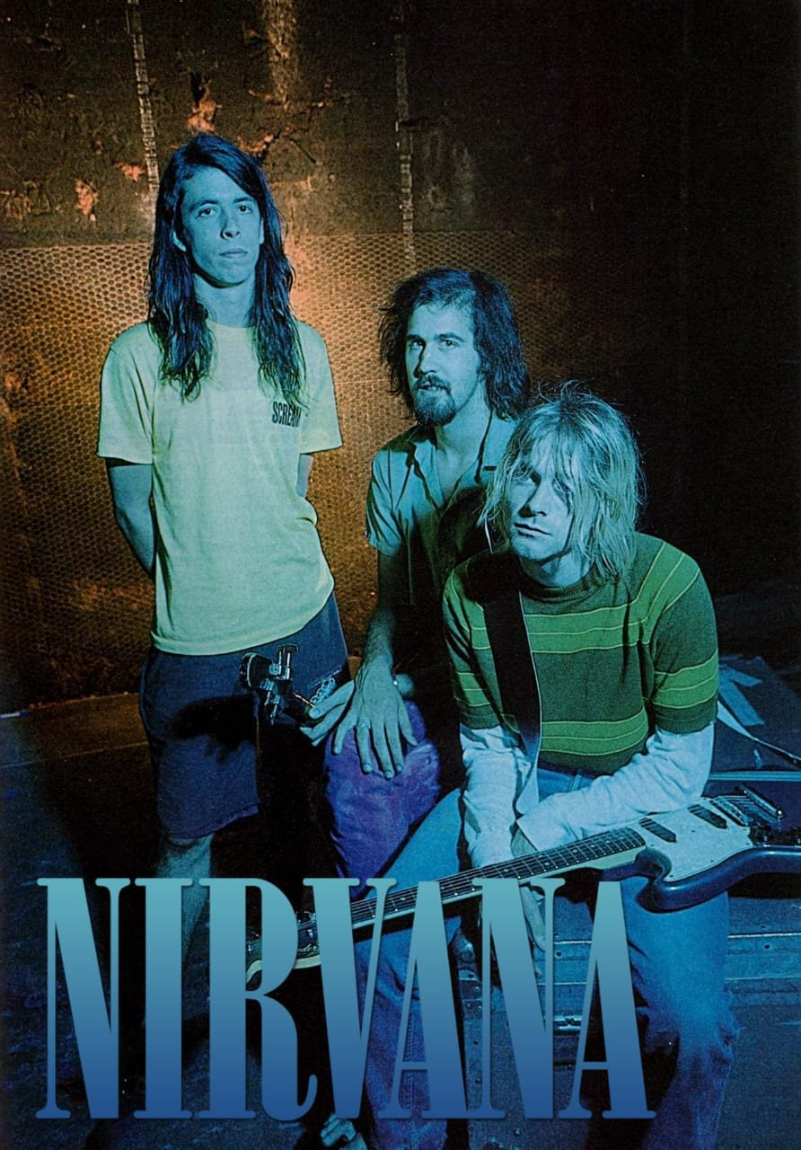 NIRVANA Band 1 FLAG CLOTH POSTER WALL TAPESTRY BANNER CD Grunge